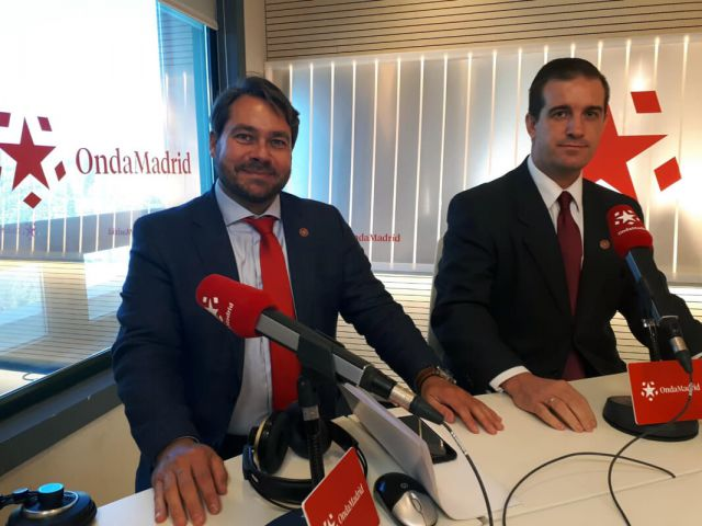 Entrevista en Buenos días Madrid por la presentación de la Asociación PETEC