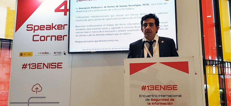 Carlos Martínez Castellanos ponente de PETEC