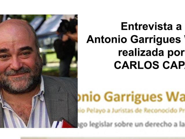 Entrevista realizada por Carlos Capa, asociado de PETEC