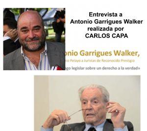 Entrevista a Antonio Garrigues Walker realizada por Carlos Capa, asociado de PETEC