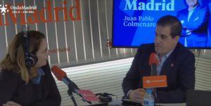 Entrevista en Onda Madrid a Fernando Mairata