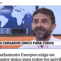 Santiago Arellano asociado de PETC en Telemadrid