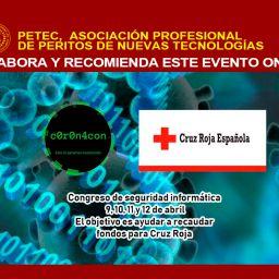 La Asociación Profesional de Peritos de Nuevas Tecnologías colabora con C0r0n4con