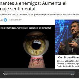 Bruno Pérez Juncá en Onda Cero Radio: De amantes a enemigos: Aumenta el espionaje sentimental
