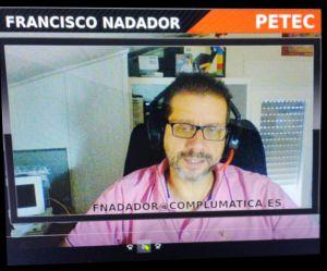 """Francisco Nadador, asociado de PETEC impartiendo la primera formación sobre """"Análisis Forense"""""""