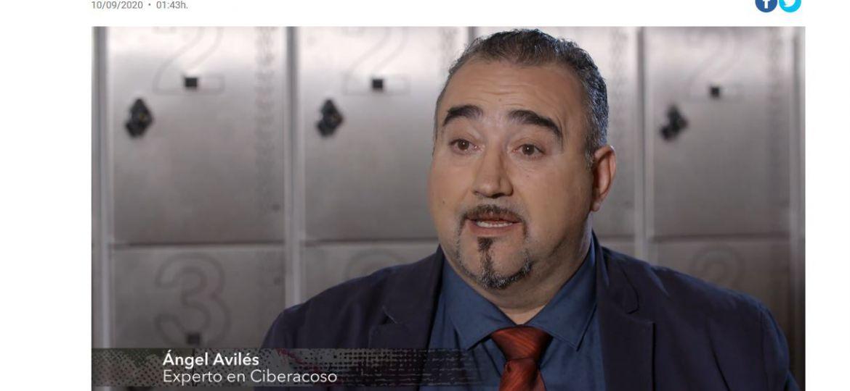 Ángel Avilés perito de PETEC y experto en Ciberacoso