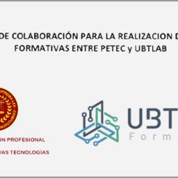 convenio de colaboración entre petec y ubtlab