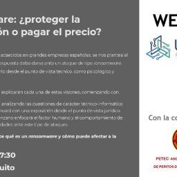 ansomware: ¿proteger la información o pagar el precio? Colaboración con UTLAB y PETEC