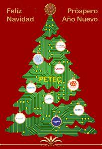 PETEC desea Feliz Navidad y próspero Año Nuevo