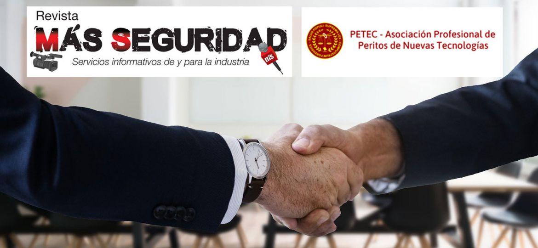 Acuerdo de colaboración entre la revista Más Seguridad y PETEC