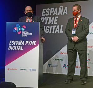 Marlon Molina en el DES2021 anuncia los finalistas a los Premios Pericia Tecnológica 2021