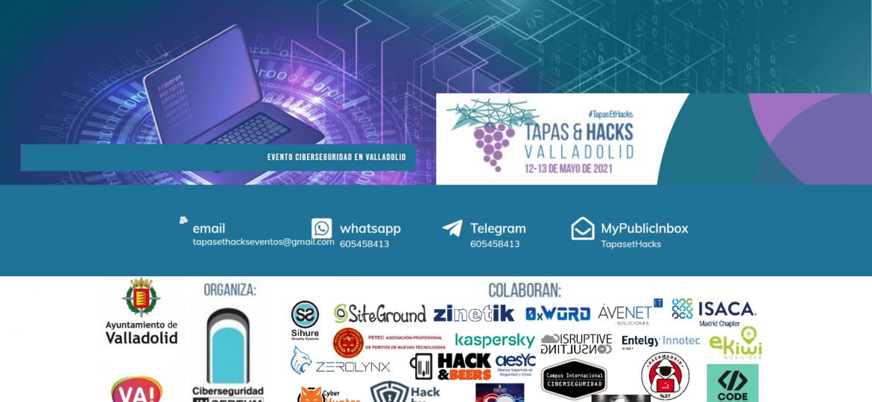 Tapas and hacks evento valladolid
