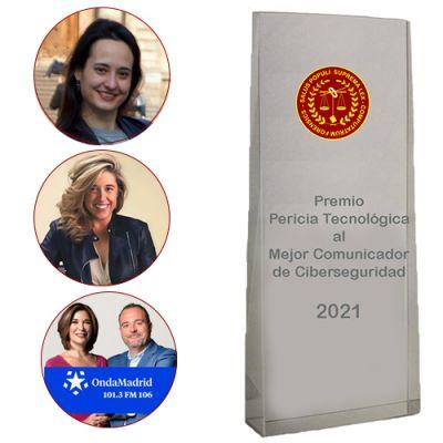 Finalistas del Premio Pericia Tecnológica al Mejor Comunicador de Ciberseguridad