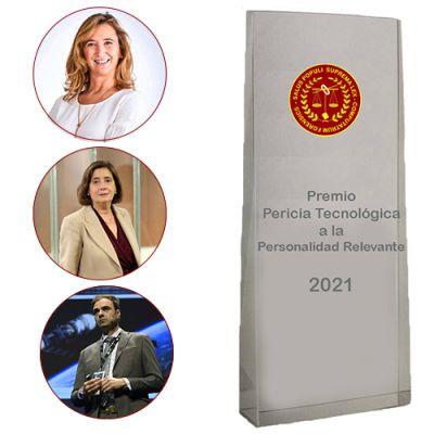 Finalistas del Premio Pericia Tecnológica a la Personalidad Relevante