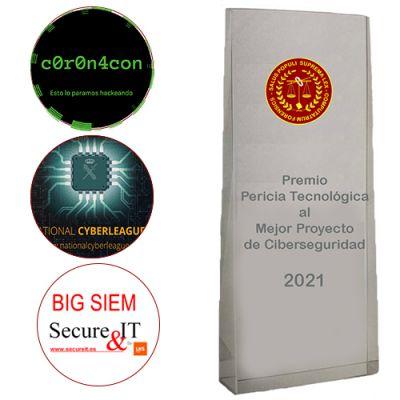 Finalistas del Premio Pericia Tecnológica al Mejor Proyecto de Ciberseguridad 2021