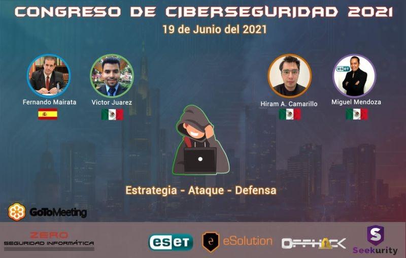 PETEC en el Congreso de ciberseguridad 2021
