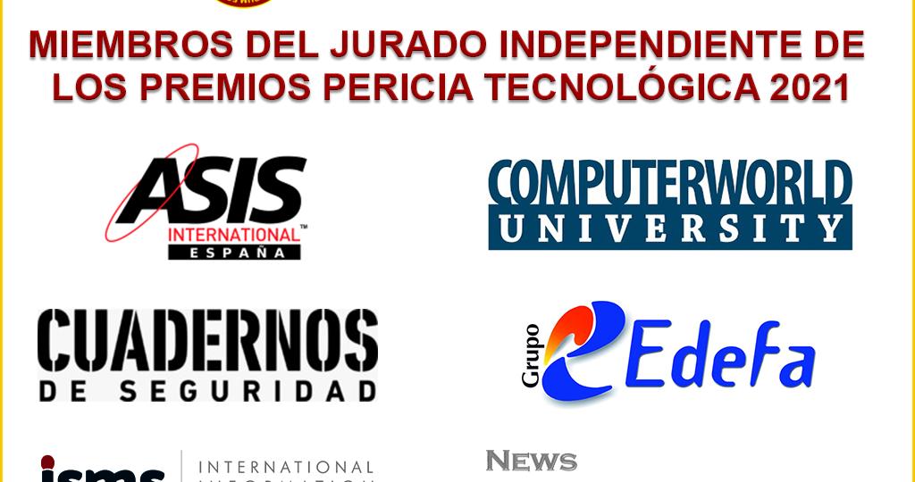 Miembros del jurado de los premios Pericia Tecnológica 2021