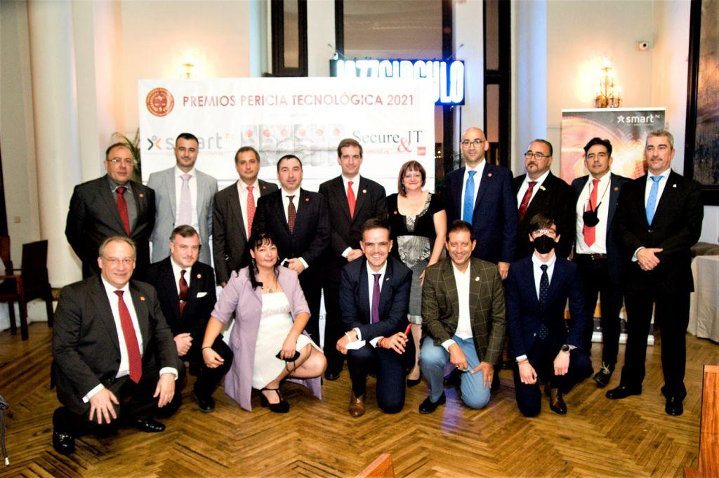 Asociados de PETEC. Premios Pericia Tecnológica 2021
