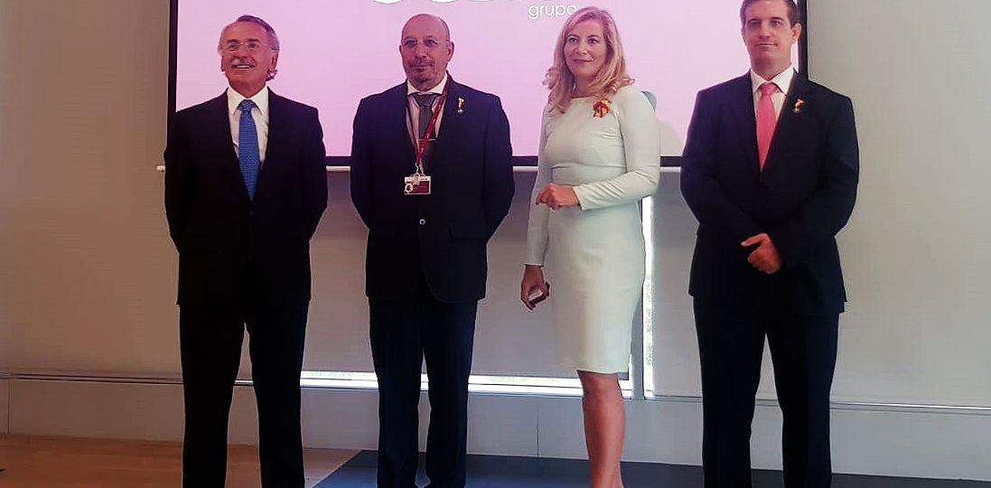 Entrega de la Medalla al Mérito a la ciberdefensa a Fernando Acero Martín