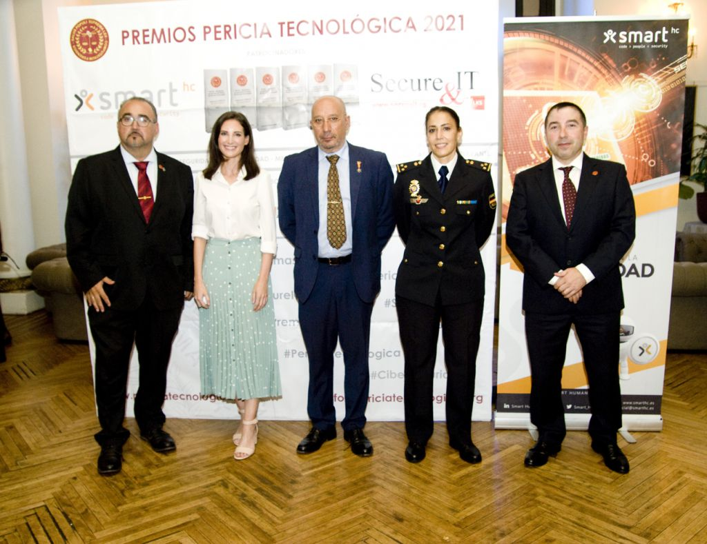 Galardonados de los Premios Pericia Tecnológica 2020