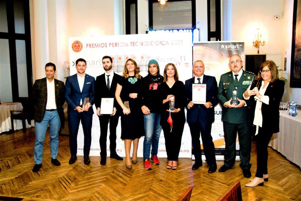 Galardonados de los Premios Pericia Tecnológica 2021