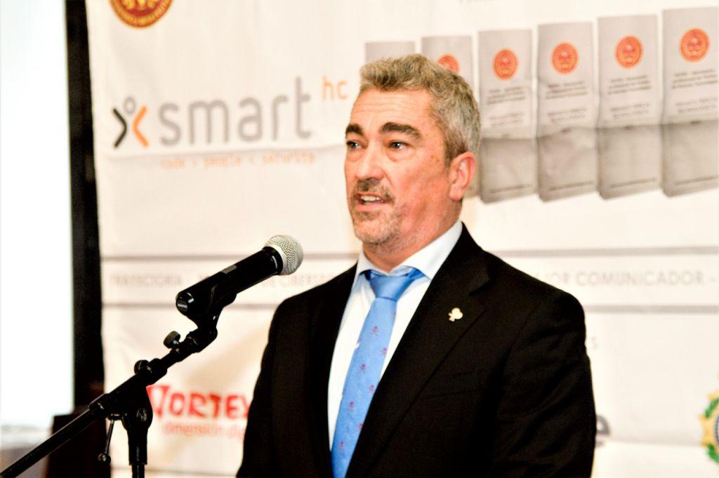 Ignacio Arrese CEO de SmartHC. Premios Pericia Tecnológica 2021