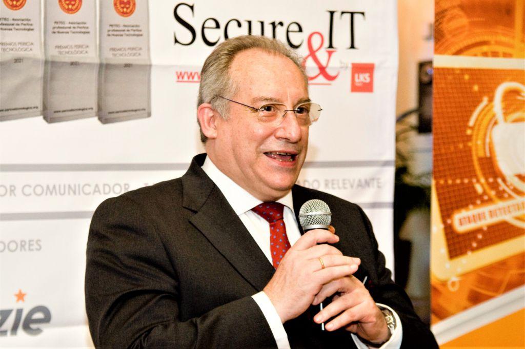 Ignacio Carraso Vicepresidente de PETEC. Premios Pericia Tecnológica 2021