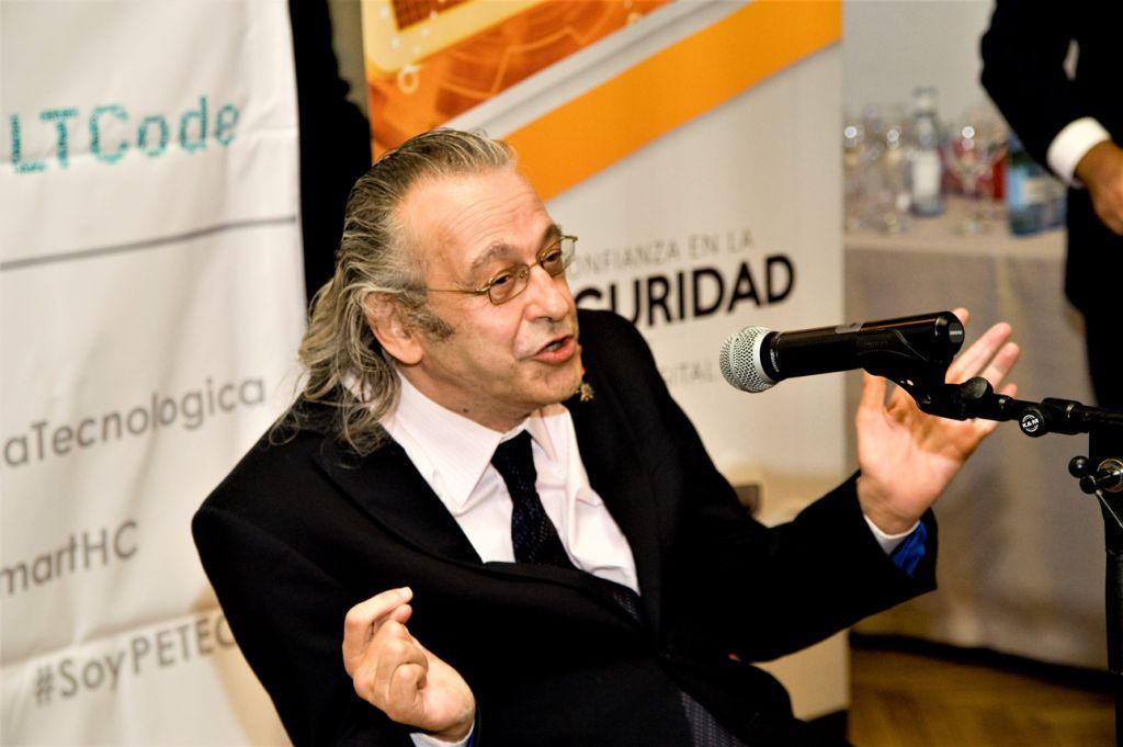 Juan Carlos Ramiro, conductor de los Premios Pericia Tecnológica 2021