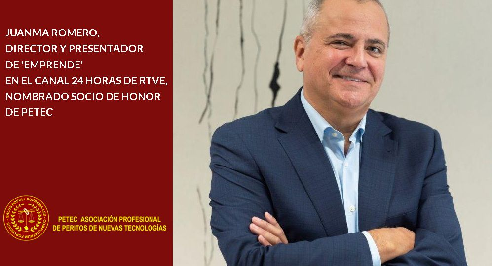 Juanma Romero socio de honor de PETEC