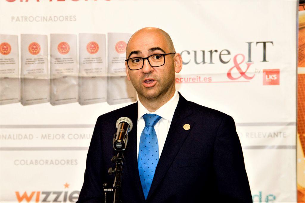 Paco Valencia. CEO de Secure&IT. Premios Pericia Tecnológica 2021