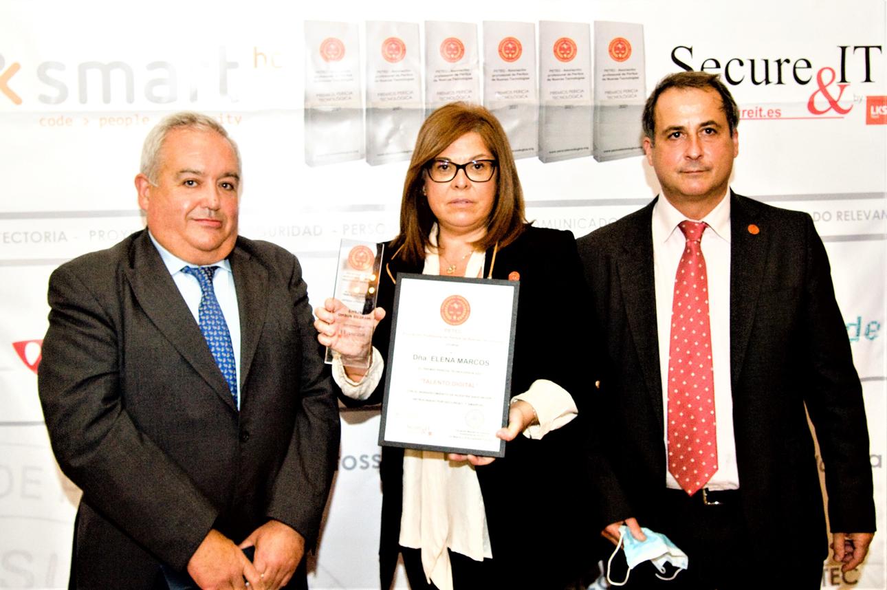 Jose Luis Belinchón, Elena Marcos Bueno, Rafael Cortés