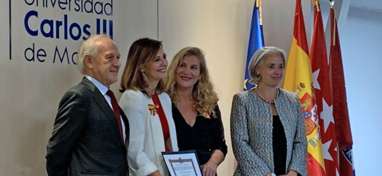 "Medalla ""Al Mérito en la Ciberdefensa"" a Aránzazu Herraéz"