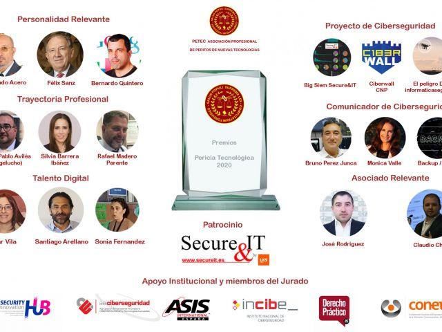 Cartel Premios Pericia Tecnológica